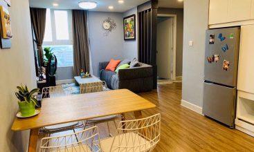 Cho thuê căn hộ sàn gỗ đẹp